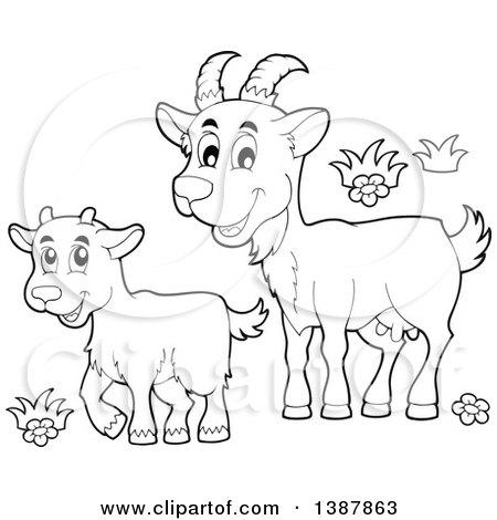 goat and kid clipart wwwpixsharkcom images galleries