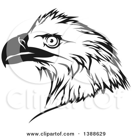 Royalty Free Rf Eagle Tattoo Clipart Illustrations Vector