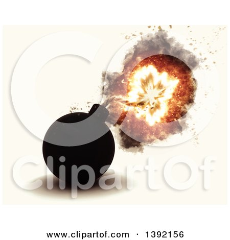 3d Exploding Bob, on an off White Background Posters, Art Prints