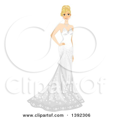 Royalty-Free (RF) Bride Clipart, Illustrations, Vector Graphics #1