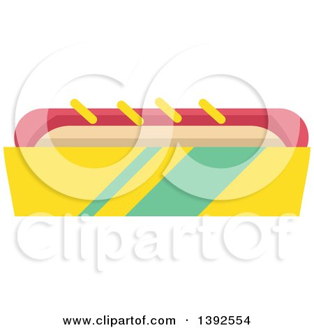 cartoon of a thumb up hot dog in a bun mascot with ketchup