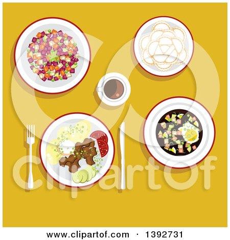 Dinner posters dinner art prints 2 for Art of russian cuisine