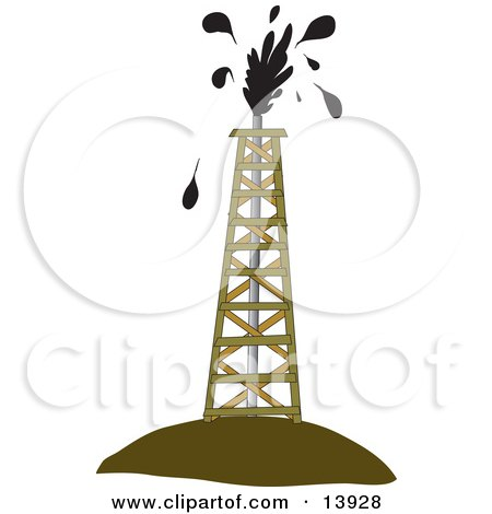 Royalty Free Rf Petroleum Industry Clipart