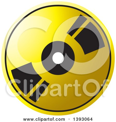 Clipart of a Blue Cd or Dvd - Royalty Free Vector Illustration by ...