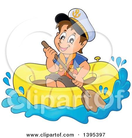 Sailor Boat Clipart