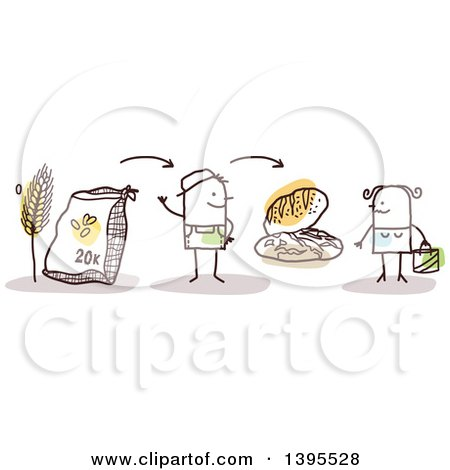 Royalty-Free (RF) Flour Clipart, Illustrations, Vector Graphics #1