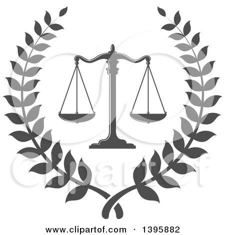 Royalty-Free (RF) Scale Of Justice Clipart, Illustrations, Vector ...