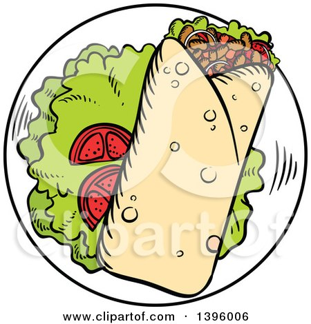 Royalty Free Rf Clipart Of Wraps Illustrations Vector