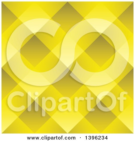 Clipart of a Seamless Pattern Background of Golden Weave - Royalty Free Vector Illustration by michaeltravers