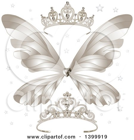 Royalty Free Tiara Illustrations By Pushkin Page 1
