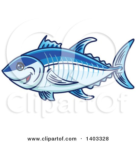 Royalty-Free (RF) Tuna Clipart, Illustrations, Vector Graphics #1