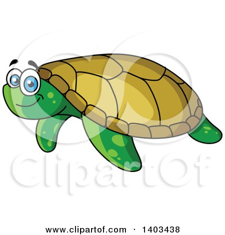 Royalty-Free (RF) Sea Turtle Clipart, Illustrations, Vector ...