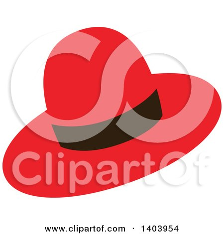 Royalty-Free (RF) Red Hat Clipart, Illustrations, Vector Graphics #1