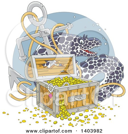 Royalty-Free (RF) Shipwreck Clipart, Illustrations, Vector Graphics #1