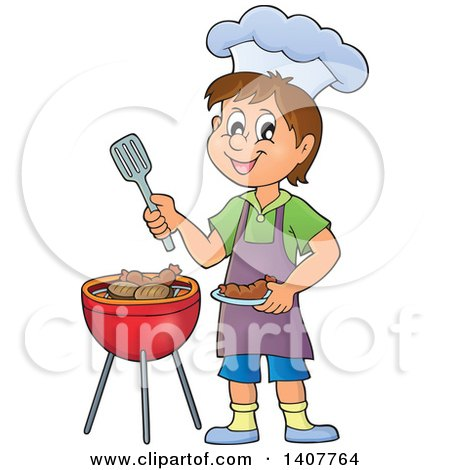 Royalty-Free (RF) Cooking Clipart, Illustrations, Vector Graphics #1