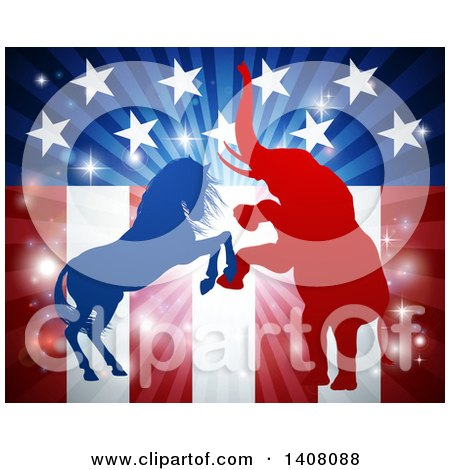 American Election Concept by AtStockIllustration