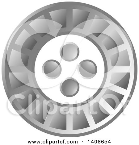 Clipart of a LED Light Design - Royalty Free Vector Illustration by Lal Perera