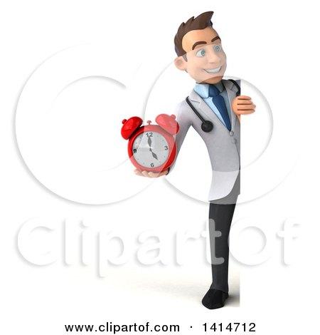 Royalty Free RF Clock Clipart Illustrations Vector