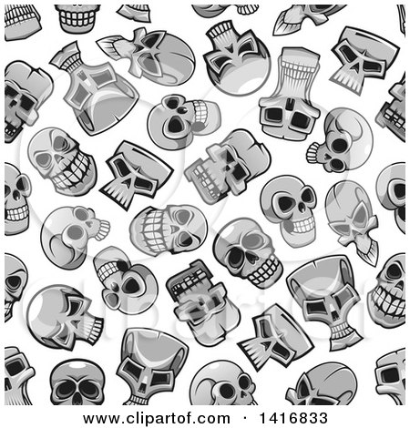 Royalty Free Stock Illustrations of Skulls by Vector Tradition SM ...