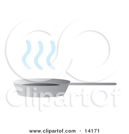 Pan With Steamy Hot Ingredients Food Clipart Illustration by Rasmussen Images