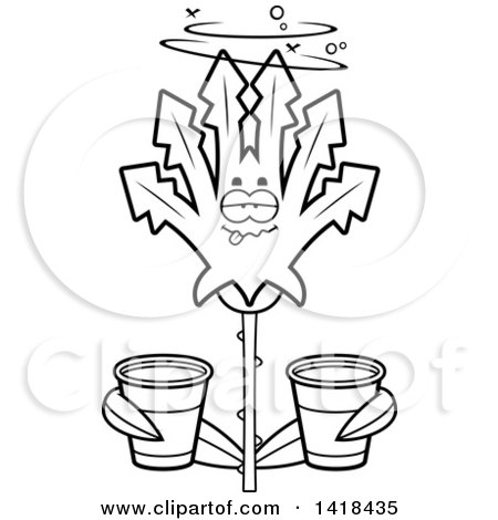 https://images.clipartof.com/small/1418435-Cartoon-Clipart-Of-A-Black-And-White-Lineart-Drunk-Cannabis-Leaf-Leaf-Holding-Cups-Royalty-Free-Vector-Illustration.jpg