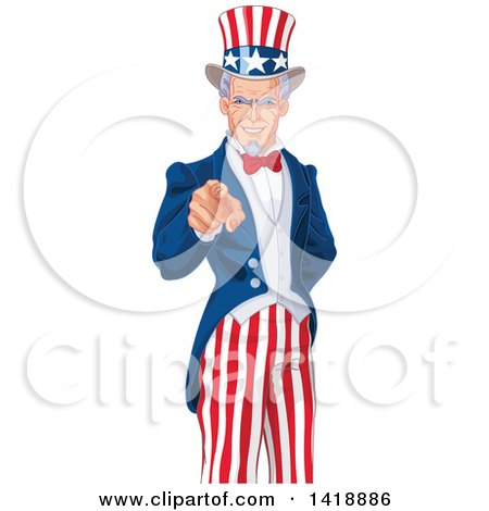 royalty free rf clipart illustration of a friendly uncle sam rh clipartof com uncle sam clip art free uncle sam clipart