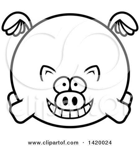 Royalty Free Stock Illustrations of Pigs by Cory Thoman Page 2