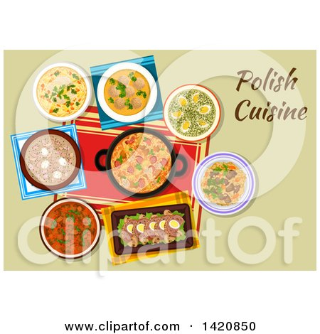 Royalty-Free (RF) Polish Food Clipart, Illustrations ...