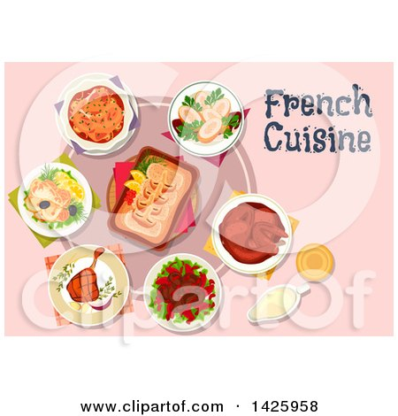 Royalty-Free (RF) French Food Clipart, Illustrations, Vector ...