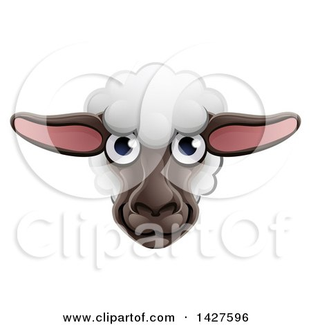 Royalty Free Rf Sheep Face Clipart Illustrations