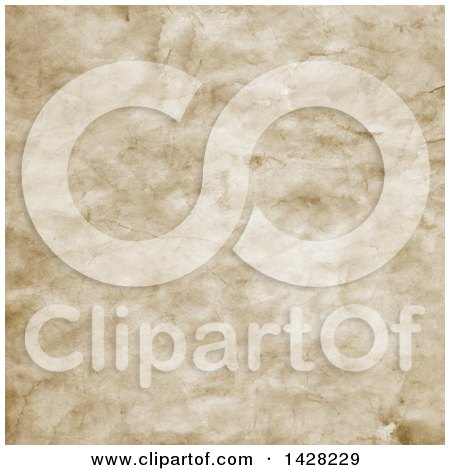 Clipart of a Background Texture of Old Paper - Royalty Free Vector Illustration by KJ Pargeter