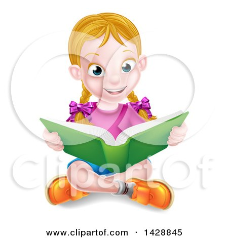 Leisure Reading Clip Art