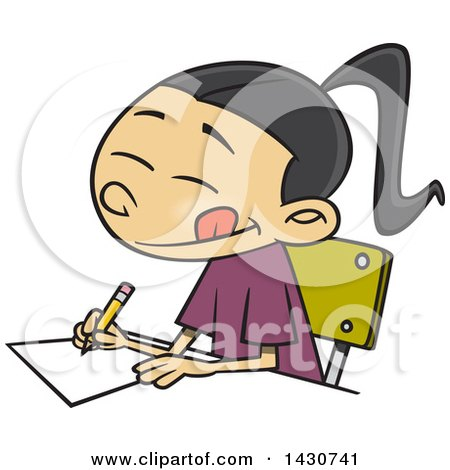 Essay cartoon character