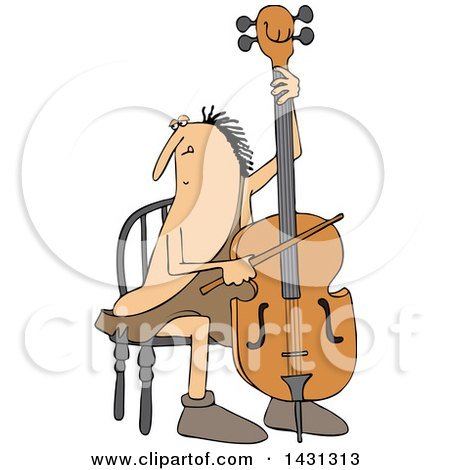 Royalty-Free (RF) Cello Clipart, Illustrations, Vector Graphics #1
