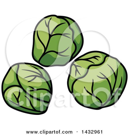 Brussels Sprouts Clip Art