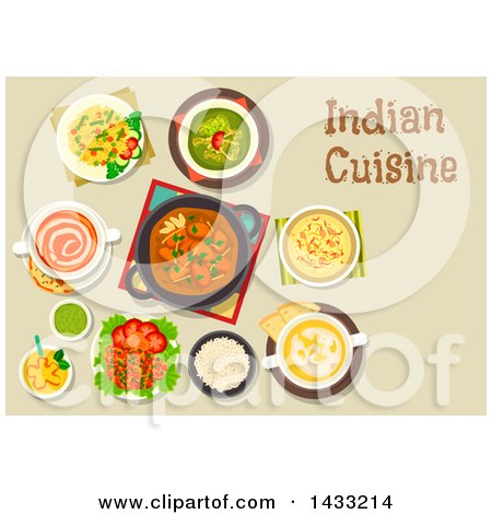 royalty-free (rf) indian cuisine clipart, illustrations, vector
