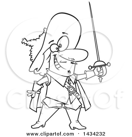 Royalty Free Stock Illustrations of Swords by Ron Leishman Page 1