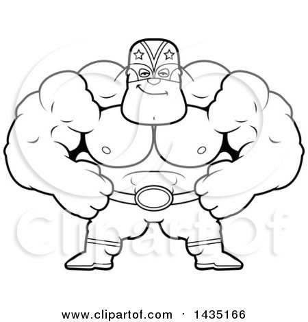 Royalty-Free (RF) Lucha Libre Clipart, Illustrations, Vector ...