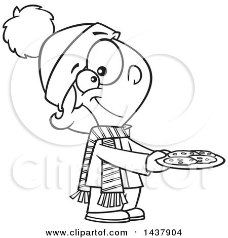 Royalty Free Rf Clip Art Illustration Of A Cartoon Man Baking