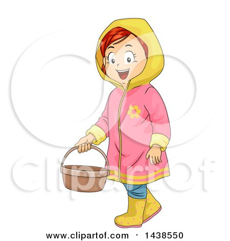 Royalty-Free (RF) Rain Coat Clipart, Illustrations, Vector Graphics #1