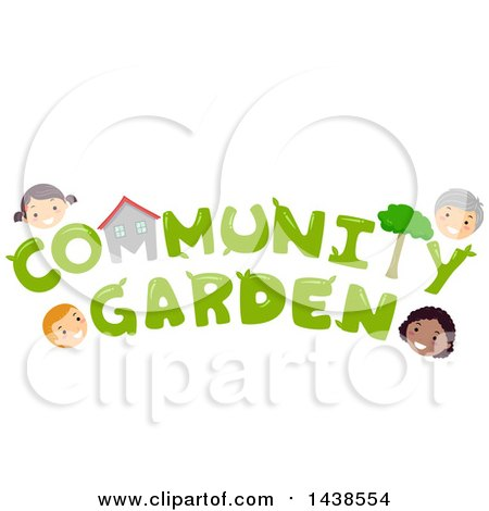 Clipart of the Wprds Community Garden Surrounded by Village ... on landscape design studio, heritage design studio, product design studio, band design studio, college design studio, interior design studio, culinary design studio, character design studio, haven design studio, media design studio, urban design studio, online design studio,