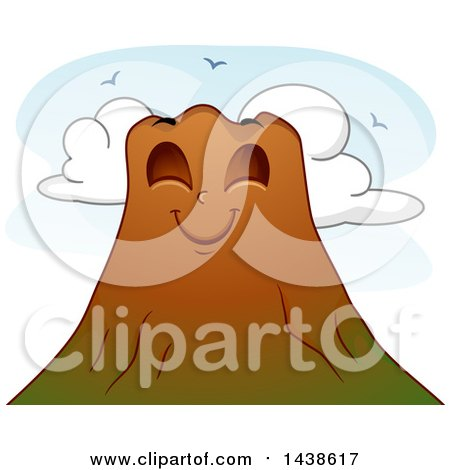 Royalty-Free (RF) Volcano Clipart, Illustrations, Vector Graphics #1