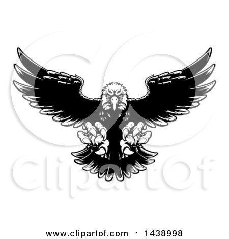 royalty free rf swooping eagle clipart illustrations vector graphics 1. Black Bedroom Furniture Sets. Home Design Ideas