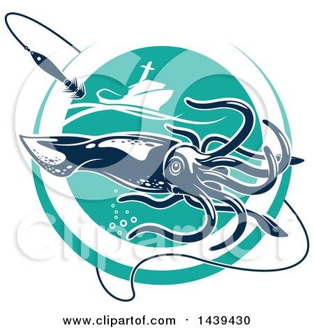 Royalty free rf fishign boat clipart illustrations for Circle fishing boat
