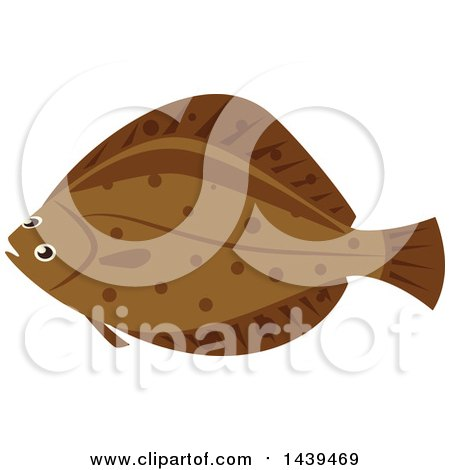 Royalty-Free (RF) Flounder Clipart, Illustrations, Vector Graphics #1