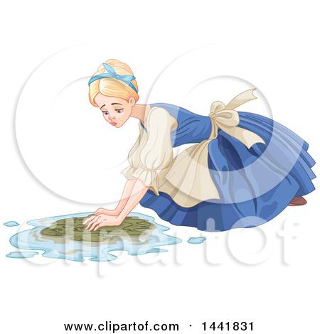 Royalty-Free (RF) Scrubbing Floor Clipart, Illustrations, Vector ...