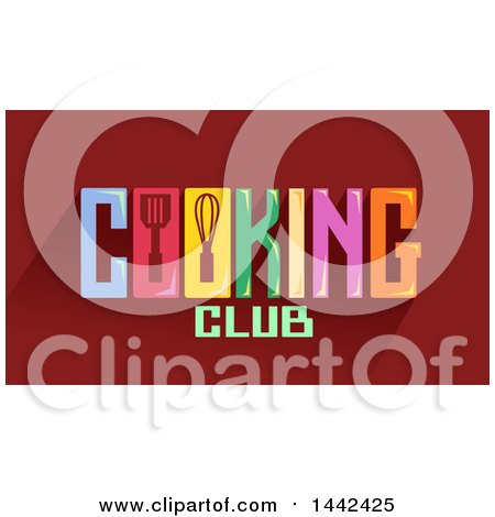 Cooking Club Word Design By BNP Studio