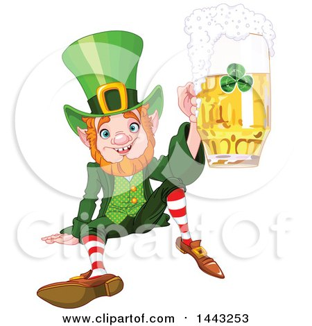 Royalty Free Stock Illustrations of Leprechauns by Pushkin Page 1