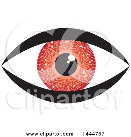 Royalty-Free (RF) Red Eye Clipart, Illustrations, Vector Graphics #1