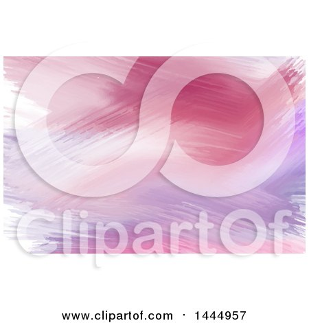 Pink and Purple Watercolor Paint Strokes Background or Business Card Design Posters, Art Prints